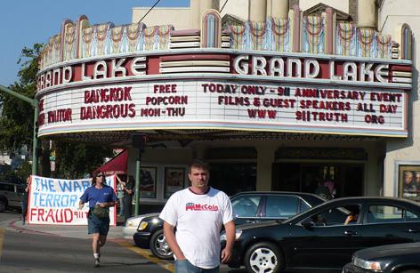 Photo of Grand Lake Theater marquis